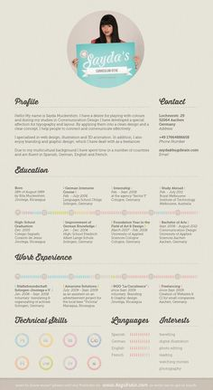 50 Resume Designs That Help You Get Dream Job - Dzineblog360. (Yes, but unless you