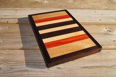 Handcrafted Wood Trivet Wooden Cutting Board by MidnightWoodworks