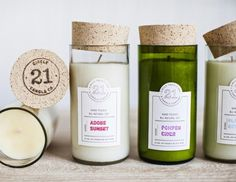 Candle Green, White Home Eco-friendly, Traditional, Minimalist Packaging Design by Nudge