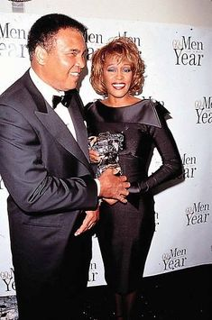 Whitney with Muhammad Ali