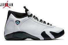 04962d0958cb Men s Air Jordan 14 Oxidized Green Basketball Shoes White Black-Oxidized  Green-Legend