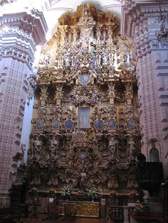 Retablo de la Virgen de Guadalupe (de Santa Prisca) en Taxco | Flickr - Photo Sharing!