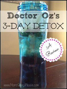 More Skees Please: I survived the Dr. Oz detox! Encouraging!