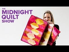 QUILT AS YOU GO Placemats for a Midnight Quilt Show DINNER PARTY with Angela Walters - YouTube