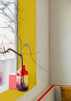 ispirazioni e design in giallo