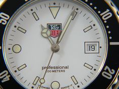 TAG Heuer 1500 Man white dial WD1213-G-20