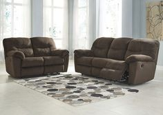 The Chivington Reclining Sofa from Ashley Furniture HomeStore