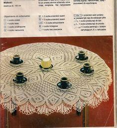 "Photo from album ""Igla i Nitka on Yandex. Lace Knitting, Knit Crochet, Knitting Designs, Doilies, Album, Yandex Disk, Holiday Decor, Diy, Tablecloths"