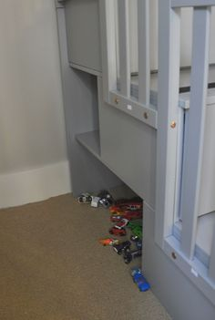 cubby storage in bunk beds