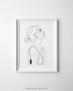 Abstract line illustration, minimal face drawing in lines, printable yellow fashion . - # - Trendy outfits - Abstract line illustration, minimal face drawing in lines, printable yellow fashion … – # - Abstract Drawings, Abstract Lines, Art Drawings, Abstract Portrait, Abstract Art, Pencil Portrait, Line Illustration, Portrait Illustration, Line Drawing