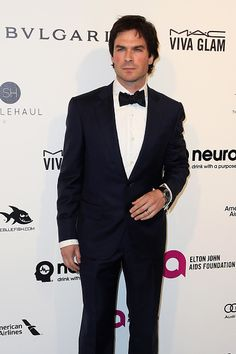 Ian Somerhalder - 24th Annual Elton John AIDS Foundation's Oscar Viewing Party at The City of West Hollywood Park on February 28, 2016 in West Hollywood, California.