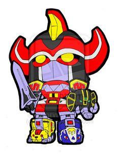 Lil Daizyujin aka Megazord by KevinRaganit.deviantart.com on @deviantART