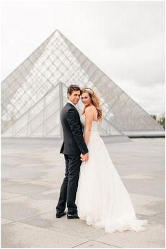 Wedding Louvre Paris    Image French Grey Photography
