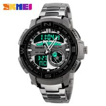 Like and Share if you want this  SKMEI Large Dial Sports Watches Men Digital LED Quartz Wristwatches Fashion Casual Stainless Steel Watch 1121     Tag a friend who would love this!     FREE Shipping Worldwide     #Style #Fashion #Clothing    Get it here ---> http://www.alifashionmarket.com/products/skmei-large-dial-sports-watches-men-digital-led-quartz-wristwatches-fashion-casual-stainless-steel-watch-1121/