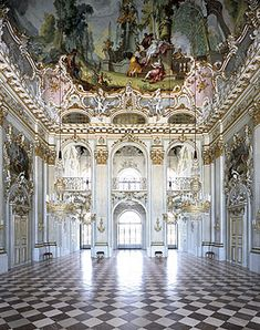 Nymphenburg Palace Interiors - Great Hall