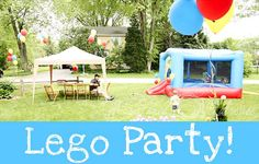What a fun party idea! Perfect for my little guy!