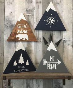 Spring Crafts for Kids – Art and Craft Project Ideas for All Ages Woodland Nursery Decor Rustic Decor Wood Sign Wall Hanging Rustic Nursery Decor, Rustic Decor, Wall Decor, Woodsy Nursery, Woodland Room, Woodland Decor, Rustic Room, Rustic Cottage, Rustic Baby