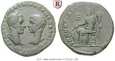 RITTER Moesia Inferior, Markianopolis, Macrinus, Diadumenianus, Tyche #coins