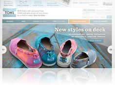Get a $10 discount with the TOMS Shoes coupon here. Don't forget, TOMS makes a donation for each pair of shoes or eyewear that you purchase.