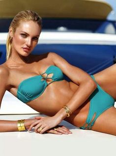 More Candice Swanepoel turquoise