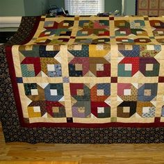 Boxy Star Pattern from Bonnie Hunter quiltville.com | quilts and ... : boxy stars quilt - Adamdwight.com