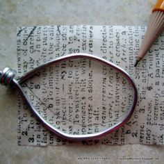How to make Tissue Paper Pendant with Tutorial00003