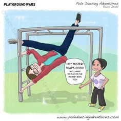 Playground Wars - Pole Dancing Adventures by Leen Isabel
