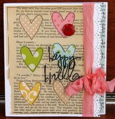 Hearts and Text