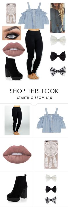 """"""""""" by yay-aya ❤ liked on Polyvore featuring Yummie by Heather Thomson, Steve J & Yoni P, Lime Crime and Accessorize"""