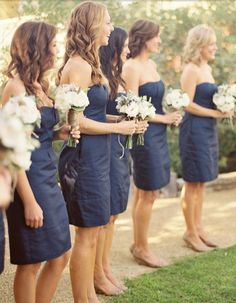 bridesmaids dress and shoes