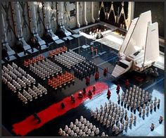 Epic LEGO Star Wars Diorama Episode six if i remember correctly