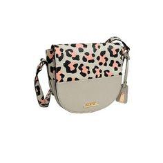 Τσάντα χιαστί μπεζ-σομόν Saddle Bags, Fashion, Moda, Sling Bags, Fashion Styles, Fasion