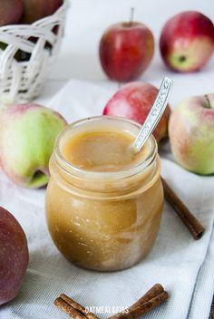 Roślinne ABC: niesłodzony mus jabłkowy