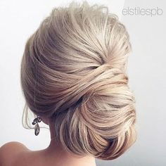 Chignon hairstyles for long hair - Hair For Women İdeas Up Hairstyles, Pretty Hairstyles, Hairstyle Ideas, Formal Hairstyles, Classic Updo Hairstyles, Hair Ideas, Medium Hairstyles, Wedding Hair And Makeup, Hair Makeup