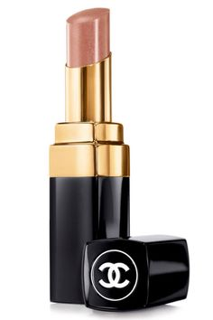 """""""This is a great neutral brown with a natural, smooth matte finish. The color is just right—not too pale, and good for day or night, especially those times when you're rocking a dramatic eye. Your lips won't steal the show, but they definitely won't be overlooked."""" — Jeannia Robinette Chanel Rouge Coco Shine in Canotier, $32.50, chanel.com."""