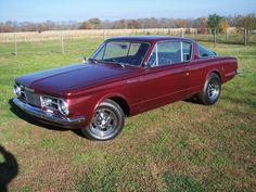 1965 Plymouth Barracuda Maintenance/restoration of old/vintage vehicles: the material for new cogs/casters/gears/pads could be cast polyamide which I (Cast polyamide) can produce. My contact: tatjana.alic@windowslive.com