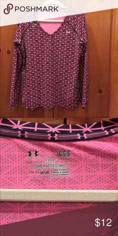 Under Armour Long Sleeve Top Size L Fitted heat gear size l Under Armour Tops Tees - Long Sleeve