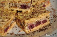 Prajitura Rumba   Retete culinare cu Laura Sava Romanian Desserts, Romanian Food, Romanian Recipes, My Favorite Food, Favorite Recipes, Sweet Little Things, Good Food, Yummy Food, Sweets Recipes