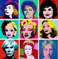Warhol popart.