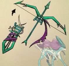 Suicune bow