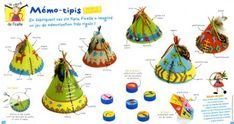 Brico des indiens, vive les tipis !!! Indian Theme, Indian Art, Pocahontas, Indian Crafts, Cowboys And Indians, Inca, Le Far West, Native Indian, First Nations