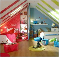 Gorgeous 50 Genius Ideas for Boy and Girl Shared Bedroom