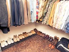 """""""Big closet space is kind of rare in the city. My walk-in closet used to be the building's elevator shaft. I guess I got lucky. Most people call it my store. If you visit and want something, it's yours."""" - Jake Davis http://thecoveteur.com/Jake_Davis"""