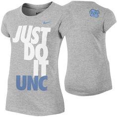 Nike North Carolina Tar Heels (UNC) Youth Girls DNA T-Shirt - $19.95