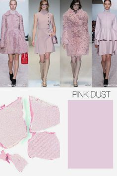 FASHION VIGNETTE: TRENDS // TREND COUNCIL - THINK PINK COLOR F/W 2015-16