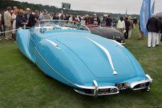 1949 Delahaye 175 S Saoutchik Roadster Diesel Punk, Classic Trucks, Classic Cars, Bugatti, Fiat 500, Art Deco Car, Automobile, Weird Cars, Crazy Cars