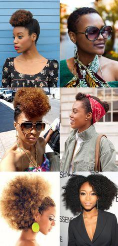 A petisquete Amanda Resende tem o cabelo afro, e em nome de todas as mulatas e não mulatas que cultivam esse tipo de cabeleira, ela fez um pedido especial pra nossa redação de algumas dicas e sugestões de looks que comportem esse tipo de cabelo. Pra com...