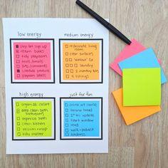 Bullet Journal Writing, Bullet Journal Ideas Pages, Bullet Journal Inspiration, Brain Dump Bullet Journal, Planner Organization, Organisation Ideas Planners, Sticky Notes, Bujo, Organizer