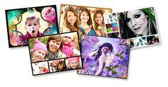 flor grandeeditor de fotos en PiZap y fabricante de collage para web, iphone, ipad y