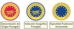 #DOP Vs #IGP Vs #ETG Información práctica, atentos a los distintos sellos porque estos son los que realmente te indican la validez de un producto de #Calidad Diferenciada.